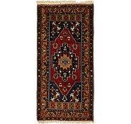 Link to 3' 7 x 7' 3 Kars Oriental Runner Rug
