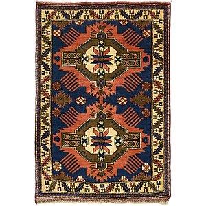3' 9 x 5' 6 Kars Oriental Rug
