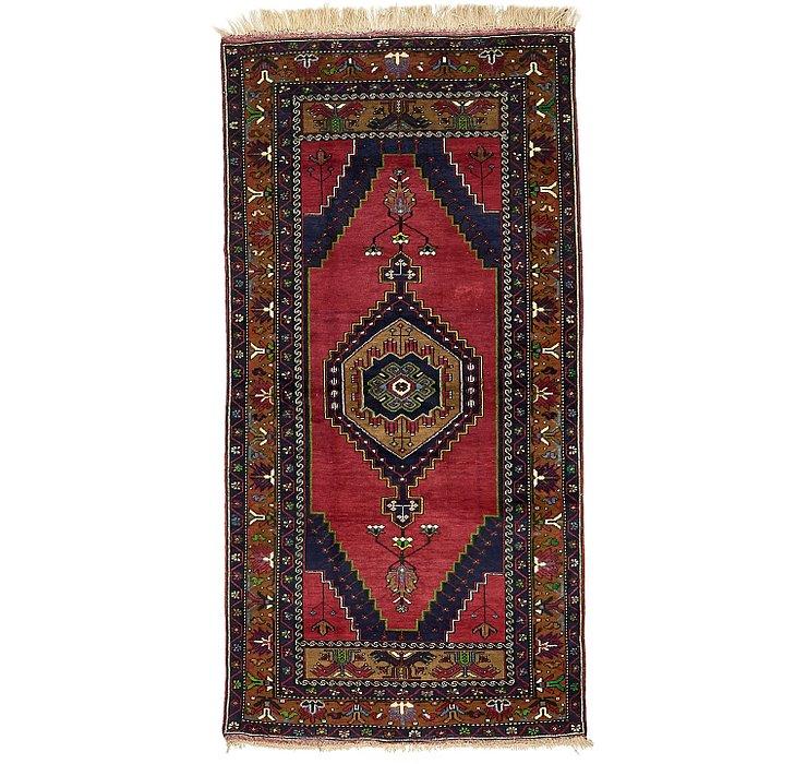 3' 9 x 7' 7 Kars Oriental Runner Rug