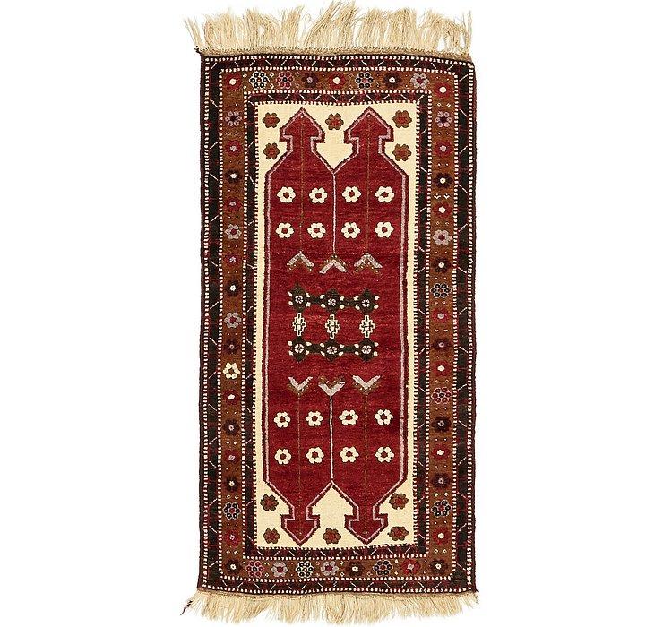 3' 2 x 6' 5 Kars Oriental Rug