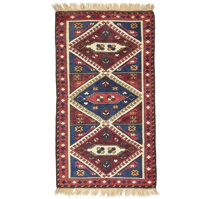 3' 7 x 6' 5 Kars Oriental Rug
