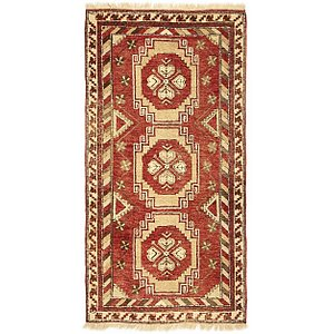 HandKnotted 3' 4 x 6' 7 Kars Oriental Rug