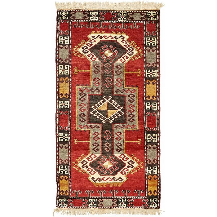 3' 3 x 6' 5 Kars Oriental Rug