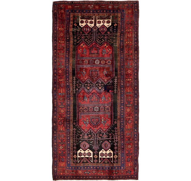 4' 7 x 10' 1 Sirjan Persian Runner Rug