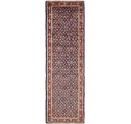 Link to 105cm x 335cm Hossainabad Persian Runner Rug