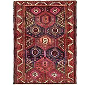Link to 137cm x 185cm Shiraz-Lori Persian Rug