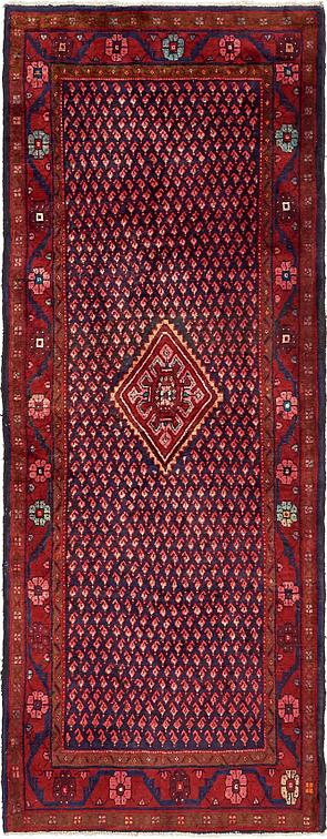 Red 3 7 X 9 6 Botemir Persian Runner Rug Persian Rugs