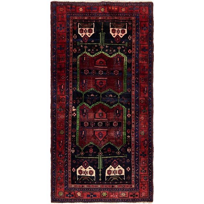 4' 5 x 9' 10 Sirjan Persian Runner Rug