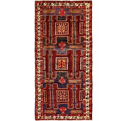 Link to 4' 10 x 10' 2 Meshkin Persian Runner Rug