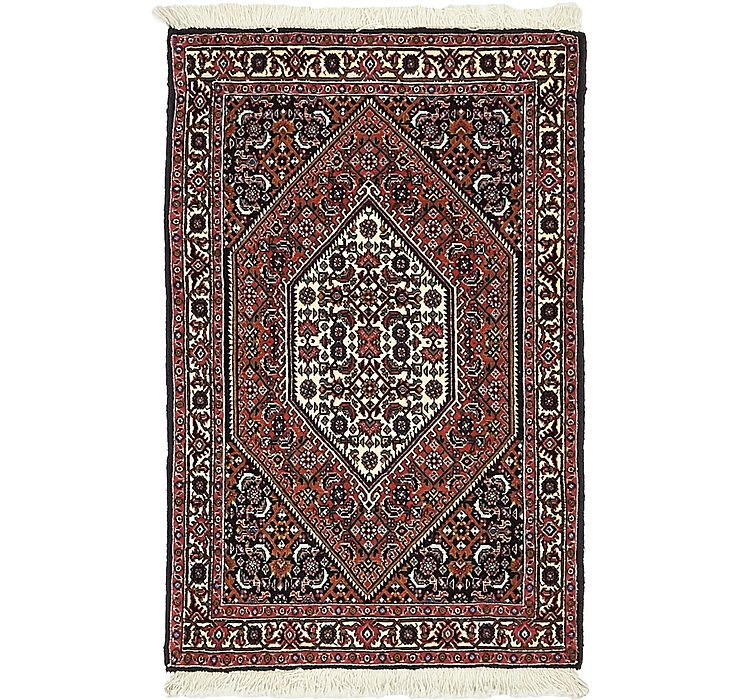 2' 3 x 3' 5 Bidjar Persian Rug