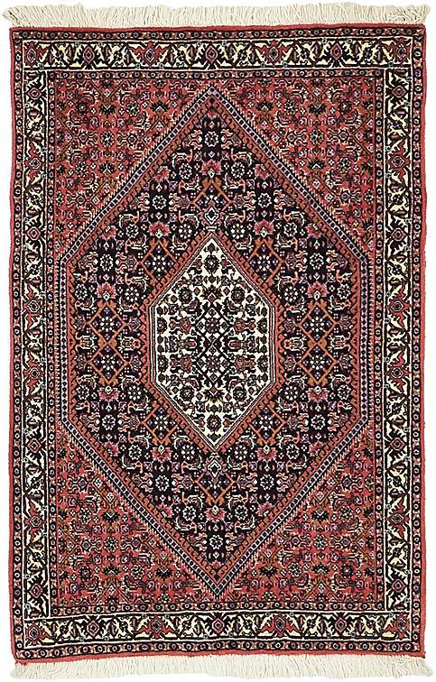 Red 2 4 X 3 7 Bidjar Persian Rug Persian Rugs Esalerugs