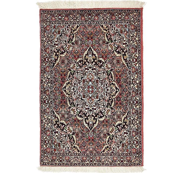 2' 3 x 3' 6 Bidjar Persian Rug