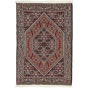 HandKnotted 2' 4 x 3' 7 Bidjar Persian Rug