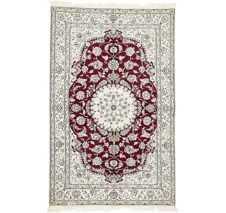 5' 2 x 8' 2 Nain Persian Rug