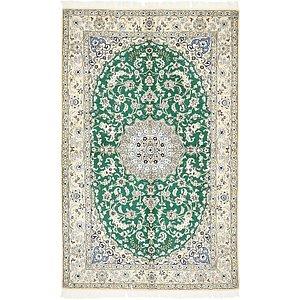 5' 2 x 8' 4 Nain Persian Rug