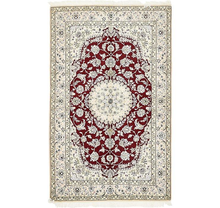 5' 1 x 8' 4 Nain Persian Rug