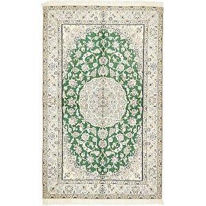 5' 1 x 8' 3 Nain Persian Rug