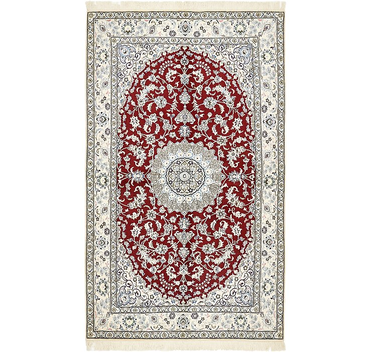 5' x 8' 4 Nain Persian Rug