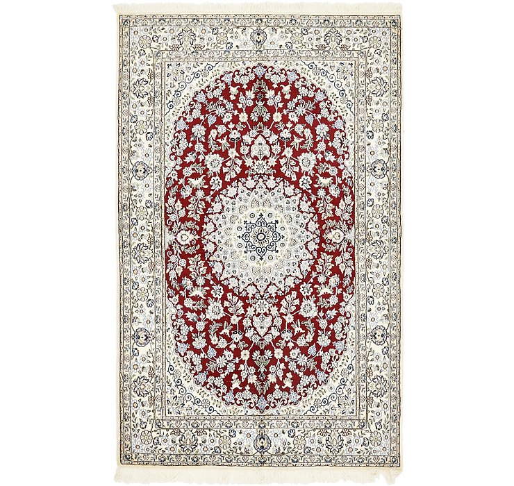 155cm x 245cm Nain Persian Rug