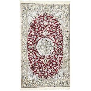 5' 2 x 8' 9 Nain Persian Rug