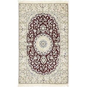 4' 9 x 7' 10 Nain Persian Rug