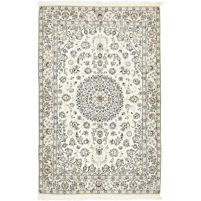 5' 4 x 8' 3 Nain Persian Rug