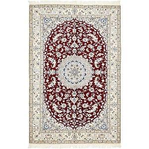 5' 1 x 7' 9 Nain Persian Rug