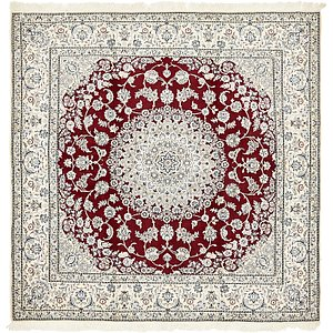 8' 2 x 8' 2 Nain Persian Square Rug