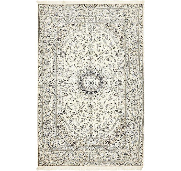 6' 7 x 10' 1 Nain Persian Rug
