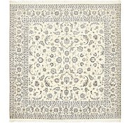 Link to 9' 7 x 9' 9 Nain Persian Square Rug