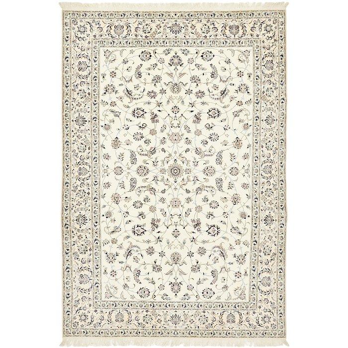7' x 10' 3 Nain Persian Rug