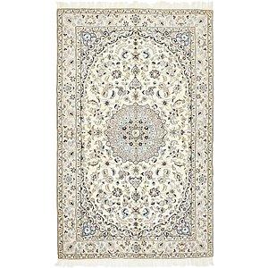 5' x 8' Nain Persian Rug