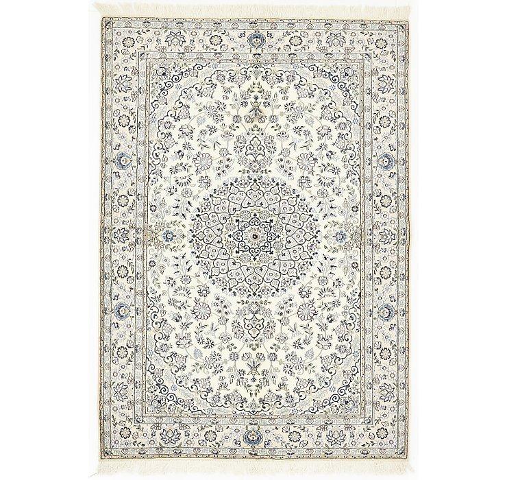 5' 3 x 7' 7 Nain Persian Rug