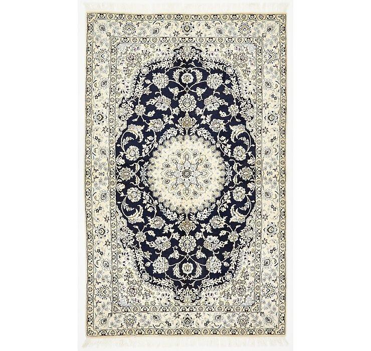 5' 2 x 8' 3 Nain Persian Rug