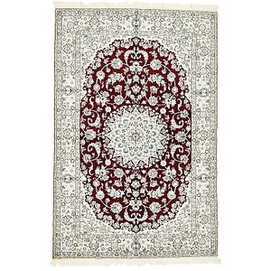 5' 2 x 7' 10 Nain Persian Rug