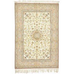 4' 9 x 7' Isfahan Persian Rug