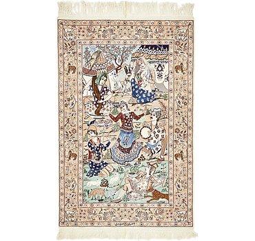 107x165 Isfahan Rug