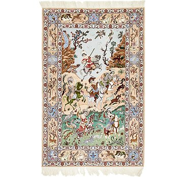 112x173 Isfahan Rug