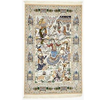 124x198 Isfahan Rug