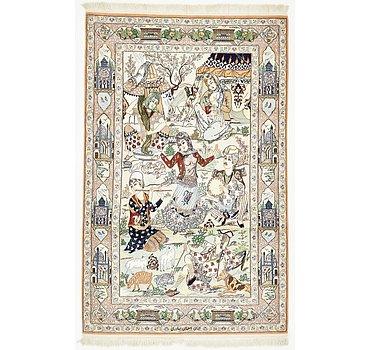 127x198 Isfahan Rug