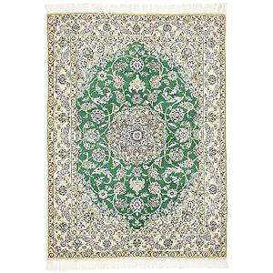 4' 11 x 6' 9 Nain Persian Rug
