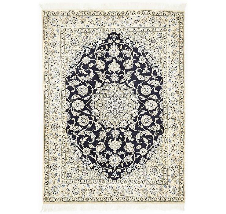 4' 11 x 6' 8 Nain Persian Rug