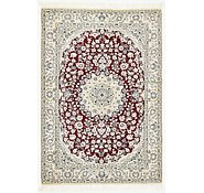 Link to 4' 10 x 7' Nain Persian Rug