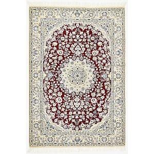 4' 10 x 7' Nain Persian Rug