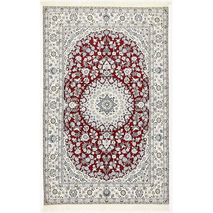 5' x 7' 11 Nain Persian Rug