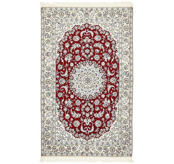 4' 10 x 8' Nain Persian Rug