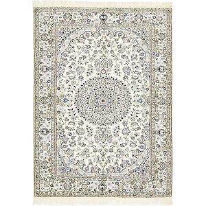 5' 3 x 7' 5 Nain Persian Rug