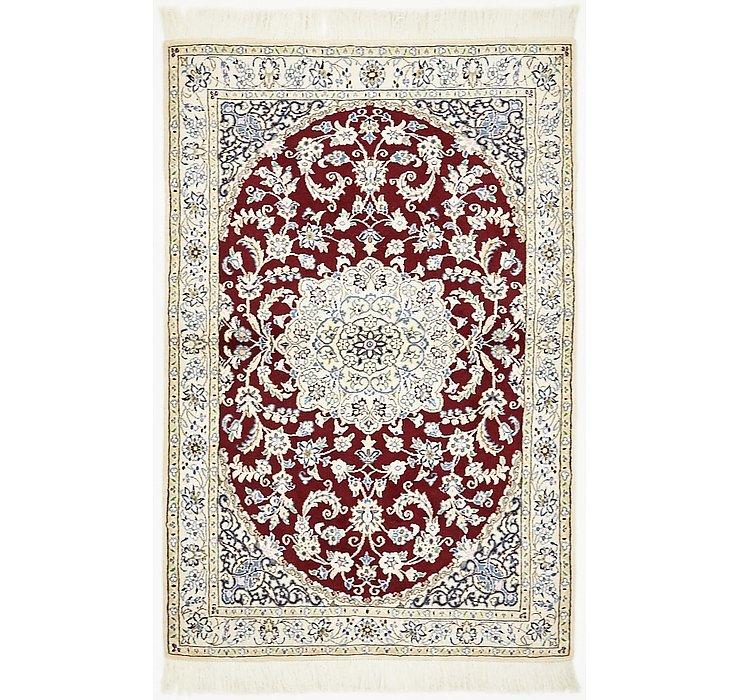 3' 3 x 4' 11 Nain Persian Rug