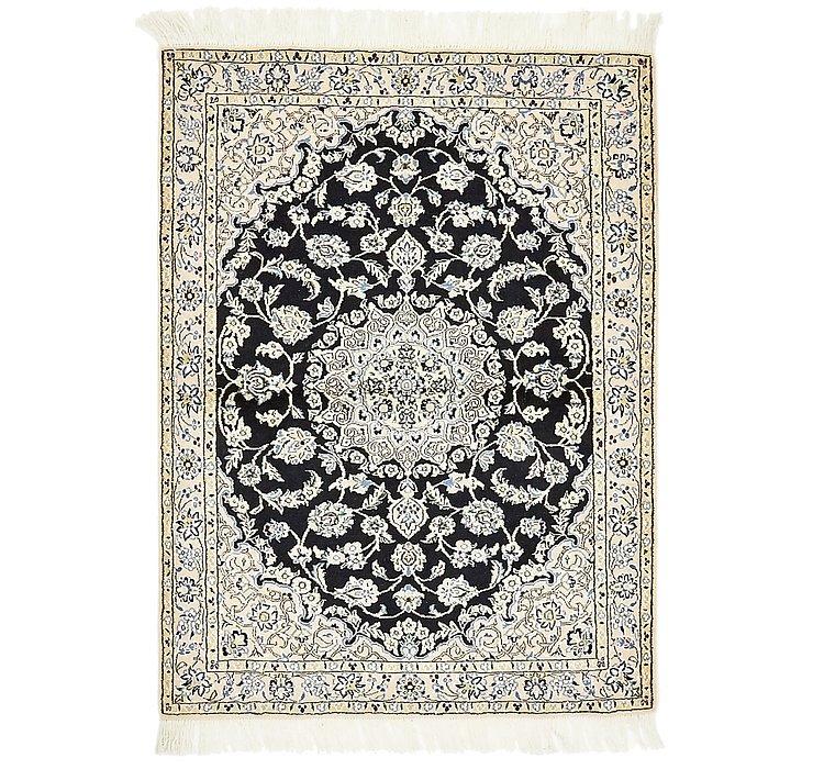 3' 6 x 4' 8 Nain Persian Rug