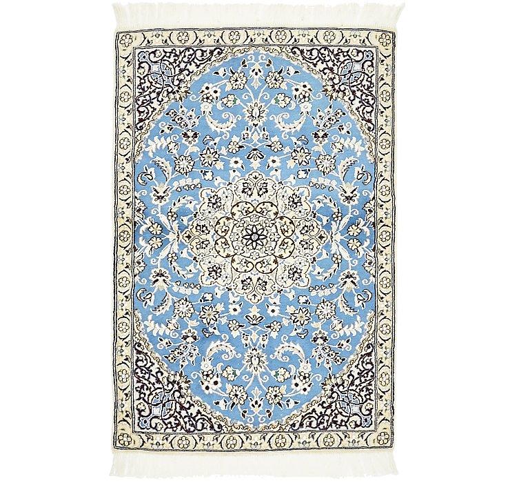 3' x 4' 5 Nain Persian Rug